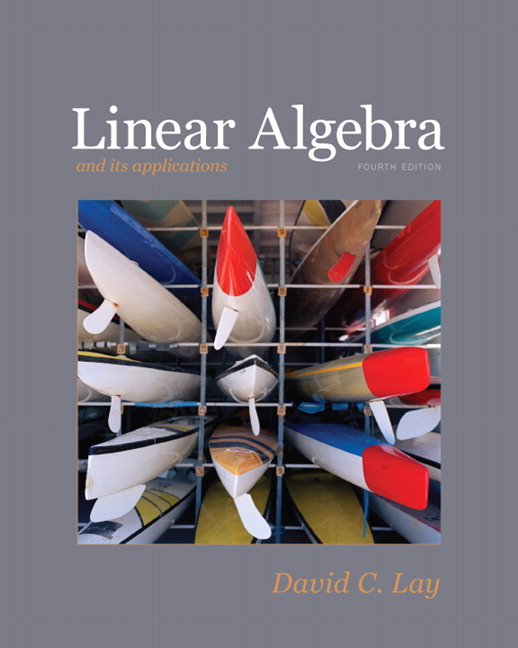 9780321385178: linear algebra and its applications, 4th edition.
