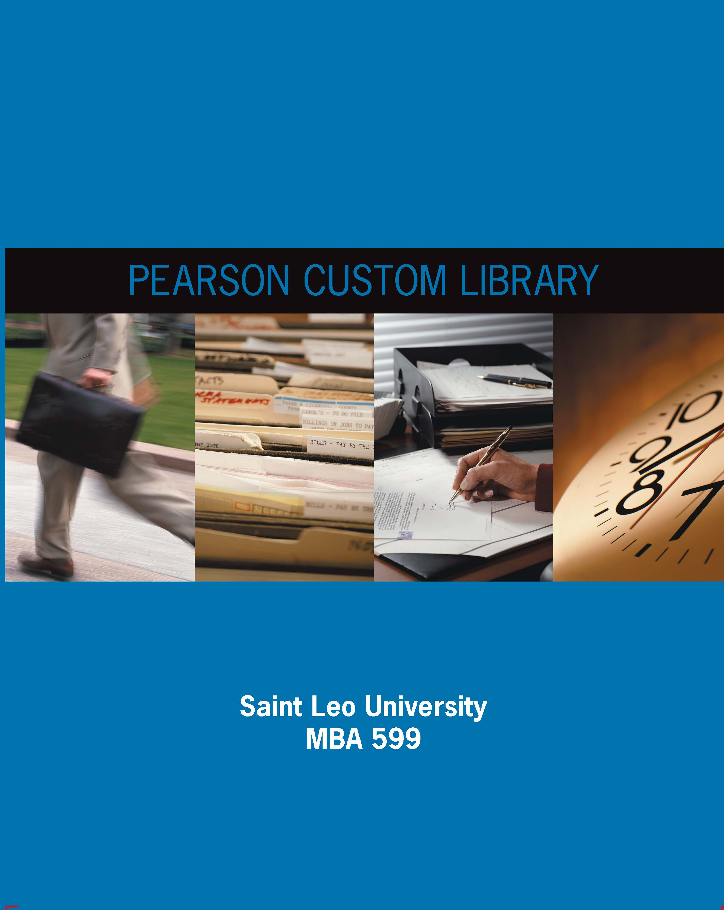 Saint leo university pearson learning solutions business resources mba 599 fred r david isbn 139781269291880 fandeluxe Images