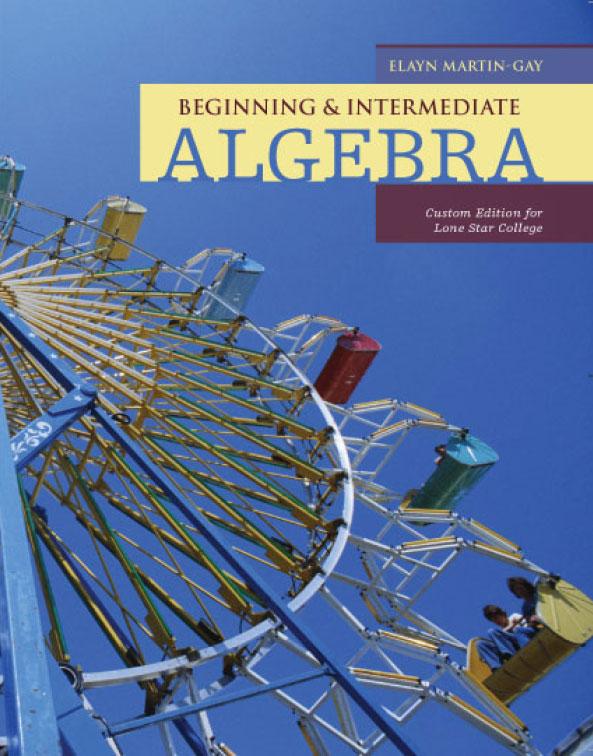 from Phillip beginning algebra by k elayn martin gay